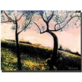 Trademark Global Rickey Lewis in.Talking Treesin. Canvas Art, 18in. x 24in.