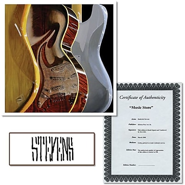 Trademark Global Roderick Stevens in.Music Storein. Canvas Art, 24in. x 24in.