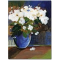 Trademark Global Sheila Golden in.The Blossomingin. Canvas Art, 19in. x 14in.