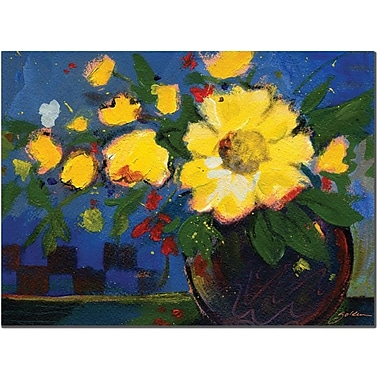 Trademark Global Sheila Golden in.Fiestain. Canvas Art, 14in. x 19in.
