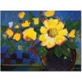Trademark Global Sheila Golden in.Fiestain. Canvas Art, 24in. x 32in.