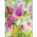 Trademark Global Sheila Golden in.Lilacs Blossomingin. Canvas Art, 24in. x 18in.