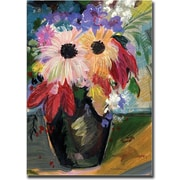 "Trademark Global Sheila Golden ""Harvest Bouquet"" Canvas Art, 24"" x 18"""