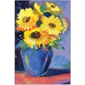 Trademark Global Sheila Golden in.Sunflowers IIin. Canvas Art, 19in. x 14in.