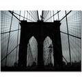 Trademark Global Tammy Davison in.Brooklyn Bridgein. Canvas Art, 35in. x 47in.