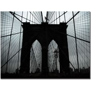 Trademark Global Tammy Davison Brooklyn Bridge Canvas Art, 35 x 47