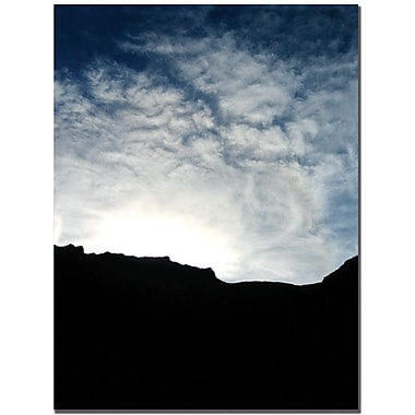 Trademark Global Tammy Davison in.Mountain Silhouettein. Canvas Art, 32in. x 24in.