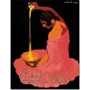 Trademark Global Spanish Olive Oil Canvas Art, 19 x 14