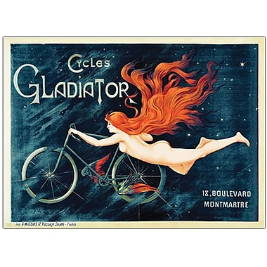 Trademark Global Georges Massias in.Cycles Gladiatorin. Canvas Art, 14in. x 19in.