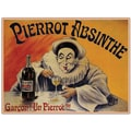 Trademark Global L.E.M. in.Pierrot Absinthe Garconin. Canvas Arts