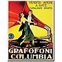 Trademark Global Grafafoni Columbia Canvas Art, 32 x