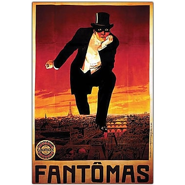 Trademark Global in.Fantomasin. Canvas Art, 19in. x 14in.