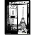 Trademark Global Sally Gall in.Views of Parisin. Canvas Arts