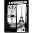 Trademark Global Sally Gall in.Views of Parisin. Canvas Art, 47in. x 35in.