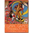 Trademark Global Olle Hjortzberg in.Olympic Games Stockholmin. Canvas Art, 19in. x 14in.