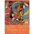 Trademark Global Olle Hjortzberg in.Olympic Games Stockholmin. Canvas Art, 47in. x 35in.