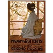 Trademark Global Giacamo Puccini Madam Butterfly Canvas Art, 47 x 35