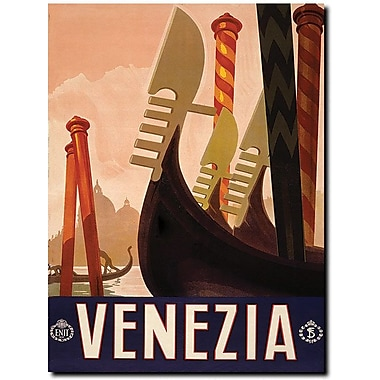 Trademark Global in.Veneziain. Canvas Art, 32in. x 24in.