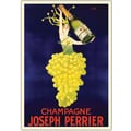 Trademark Global in.Champagne Joseph Perrierin. Canvas Art, 32in. x 26in.