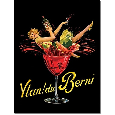 Trademark Global in.Vlan Du Berniein. Canvas Arts