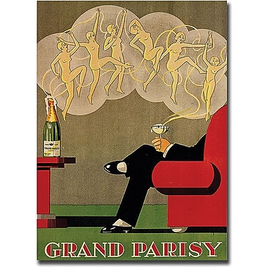 Trademark Global in.Grand Parisyin. Canvas Art, 19in. x 14in.