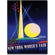 "Trademark Global Joseph Binder ""New York World's Fair 1939"" Canvas Art, 24"" x 18"""