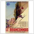 Trademark Global in.Le Brianconnais Vintagein. Canvas Art, 24in. x 18in.