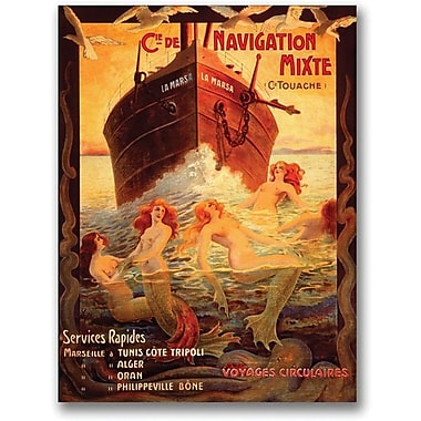 Trademark Global in.Cia Navigationin. Canvas Art, 32in. x 26in.