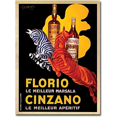 Trademark Global in.Florio Cinzanoin. Canvas Art, 19in. x 14in.