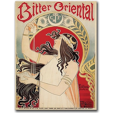 Trademark Global Henry Reb in.Bitter Orientalin. Canvas Arts