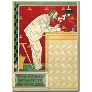 Trademark Global Paul Crespin Paul Hankar Canvas Art, 48 x 36
