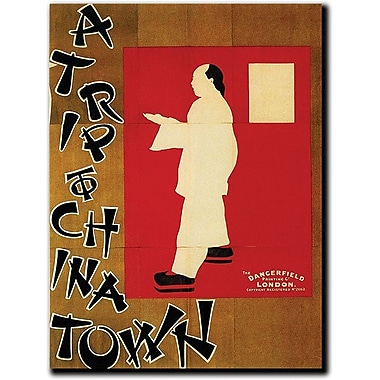 Trademark Global in.A Trip to Chinatownin. Canvas Art, 48in. x 36in.