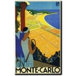 "Trademark Global Roger Broders ""Monte-Carlo"" Canvas Art, 19"" x 14"""