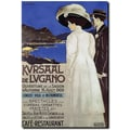 Trademark Global L. Basorini in.Kursaal de Luganoin. Canvas Art, 24in. x 18in.