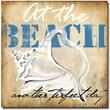 "Trademark Global Working Girls Design ""At the Beach"" Canvas Art, 24"" x 24"""