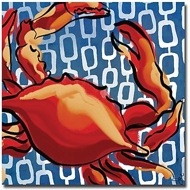 Trademark Global Working Girls Design in.Crabin. Canvas Art, 35in. x 35in.
