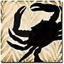 Trademark Global Working Girls Design Crab Canvas Art,