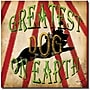 Trademark Global Working Girls Design Greatest Dog Canvas