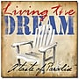Trademark Global Working Girls Design Living the Dream