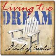 Trademark Global Working Girls Design Living the Dream II Canvas Art, 24 x 24