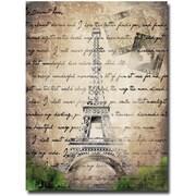 Trademark Global Working Girls Design Paris Canvas Art, 47 x 35