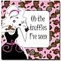 Trademark Global Working Girls Design Truffles Canvas Art,
