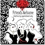 "Trademark Global Working Girls Design ""Friends Welcome"""