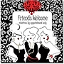 Trademark Global Working Girls Design Friends Welcome Canvas