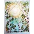 Trademark Global Wendra in.Birch Treesin. Canvas Art, 24in. x 18in.