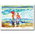 Trademark Global Wendra in.Boogie Boardersin. Canvas Art, 18in. x 24in.