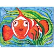 "Trademark Global Wendra ""Clown Fish"" Canvas Art, 18"" x 24"""