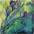 Trademark Global Wendra in.Crocusin. Canvas Art, 18in. x 18in.
