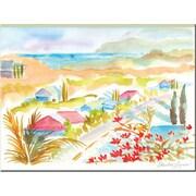 "Trademark Global Wendra ""Hawaii View"" Canvas Art, 18"" x 24"""