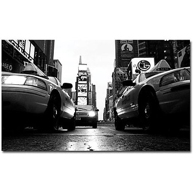 Trademark Global Yale Gurney in.Broadway Taxisin. Canvas Art, 18in. x 24in.